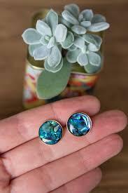 diy earring studs how to abalone shell stud earring diy sisoo