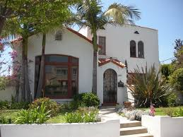 amazing exterior spanish style homes with white wall paint color
