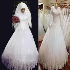 islamic wedding dresses discount 2015 sleeve muslim wedding dresses with lace