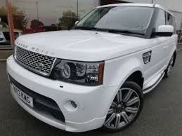 range rover sport white used white land rover range rover sport for sale cheshire