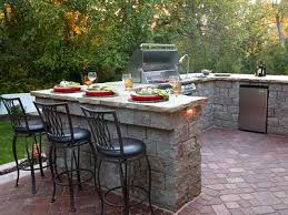 Outdoor Kitchens From Blooming Valley Landscape  Supply - Simple outdoor kitchen
