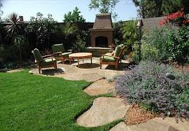 Backyard Landscaping With Fire Pit - budget friendly backyard landscaping fleagorcom