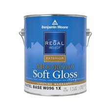 benjamin moore regal select moorglo base 1 pastel soft gloss