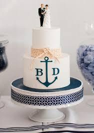 anchor wedding cake topper nautical wedding cakes creative ideas