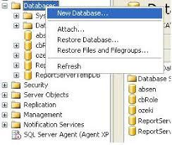 membuat database sederhana menggunakan xp farika maharani membuat database sederhana dengan microsoft sql