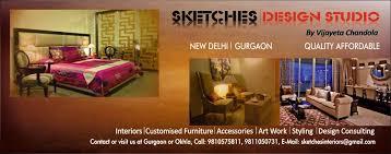 sketches design studio furniture store haryana haryana india