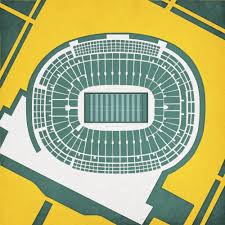 Metlife Stadium Floor Plan by Pro Football Stadium Poster Prints City Prints Map Art
