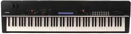 yamaha cp4 stage 88 note wooden key stage piano sweetwater