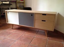 fabriquer porte de grange buffet rangement cuisine meuble de rangement cuisine alinea plan