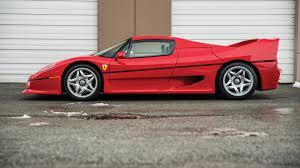 fake ferrari for sale tyson u0027s ferrari f50 will reach auction in march with 5 700 miles