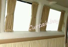 Camper Van Blinds Vw Transporter T5 Or T4 Complete Rear Curtain Set Campervan Blinds