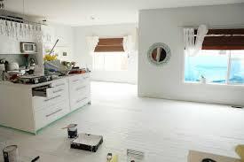 Painted Wood Floor Ideas Glossy Black Painting Hardwood Floors Design For Home Interior