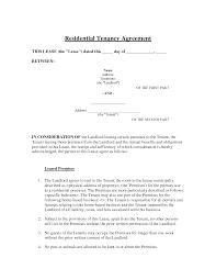 Rent Receipt Template Ontario Amazing Sample Tenancy Contract Gallery Office Worker Resume