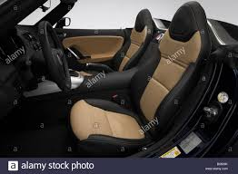 saturn sky trunk 2008 saturn sky in blue front seats stock photo royalty free