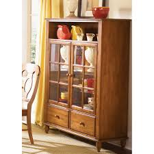 curio cabinet stirring contemporary curved corner curio cabinet