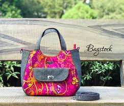 everyday tote bagstock sewing pattern pdf sewing pattern
