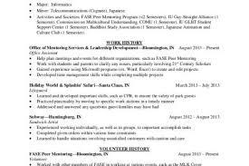 Volunteer Work Resume Example by Volunteer Experience On Resume List Volunteer Work Resume