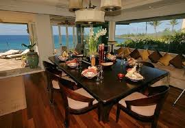 home interior tiger picture luxury tiger woods home in hawaian island dining room space area