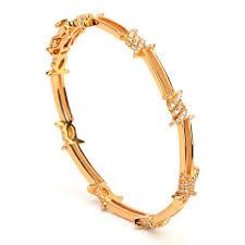 bracelet gold bangle images Melech fashion premium accessories barbed wire zircons silver 925 jpeg