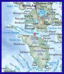 san jose mindoro map mindoro philippines dive scuba internship thailand