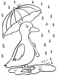 Rainy Day Coloring Pages Unique Picture Page With Photoshot Simple Rainy Day Coloring Pages