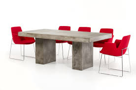 Dining Room Table Modern Concrete Dining Room Table