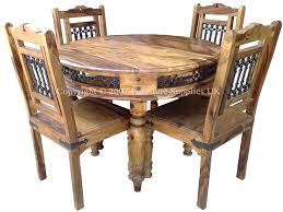 Dining Table 4 Chairs Set Seconique Cameo 100cm Round Glass Dining Table And 4 Chairs Set