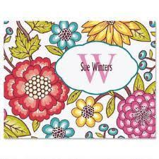personalized notecards personalized note cards monogram note cards current catalog