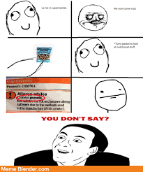 Le Me Memes - u don t say meme by separifin memedroid