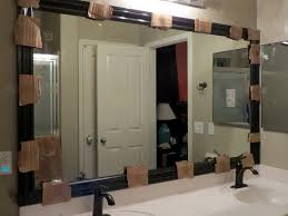 framing bathroom mirror with molding framing bathroom mirror with molding home design ideas