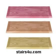 wood stair treads