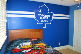 Hockey Wall Mural Toronto Maple Leafs Mural Painted Custom Wall Murals In Toronto