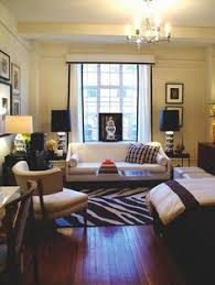Studio Apartment Furniture Layout Ideas Studio Living To Divide Or Not To Divide Tiny Spaces Small