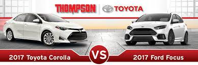 toyota yaris vs corolla comparison 2017 toyota corolla vs 2017 ford focus edgewood md