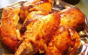 cuisine poulet au four recette poulet au four aromatisé au paprika pas chère et rapide