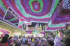 poor childhood inspires christmas light show in cainta inquirer news