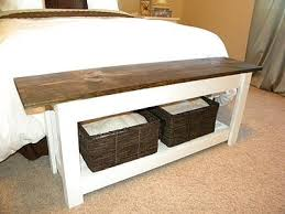 bed bench storage incredible best 25 end of bed bench ideas on pinterest narrow in