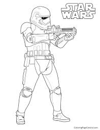 star wars u2013 first order storm trooper coloring page coloring