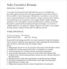 executive resume pdf sales executive resume pdf free sles exles format