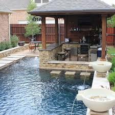 Backyard Swimming Pool Ideas Small Backyard Inground Pool Design Magnificent 28 Fabulous