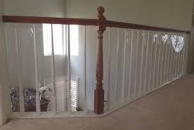 How To Install Stair Banister Baby Safety For Stair Railings Banisters And Balusters Baby