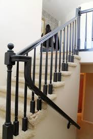 Replacing Banister Spindles How To Replace Stair Spindles Wood Balusters To Wrought Iron