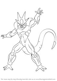 learn draw cooler dragon ball dragon ball step