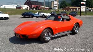 1976 orange flame corvette black interior 4 speed manual for sale
