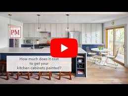 how much do painted cabinets cost cost to paint kitchen cabinets paper moon painting