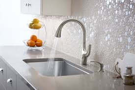 what to look for in a kitchen faucet how to update the look of your kitchen with a faucet from kohler