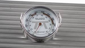outset grill surface thermometer by bbqguys com youtube