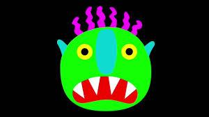go away green story time go away big green monster youtube