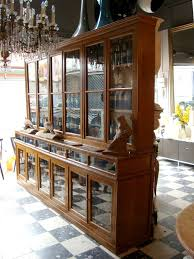 34 750 two rare 1900 u0027s pharmacy display cases from a unique
