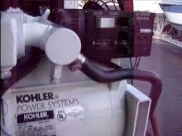 kohler marine gas generator 5e 5kw 5 kw youtube